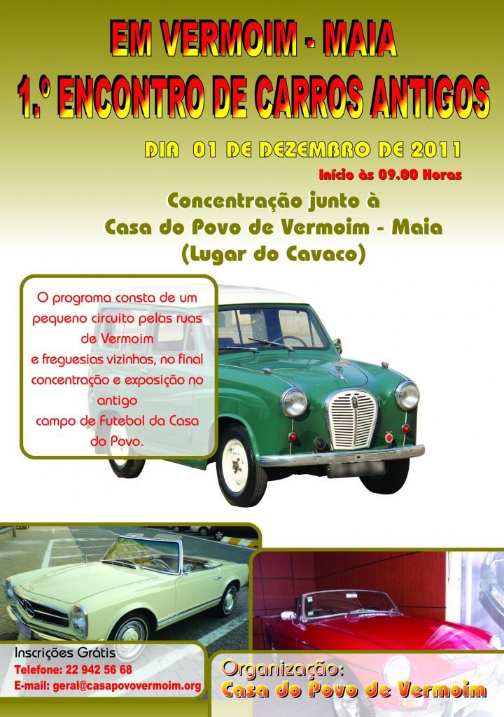 Casa do Povo de Vermoim  - Encontro de Carros Antigos A4